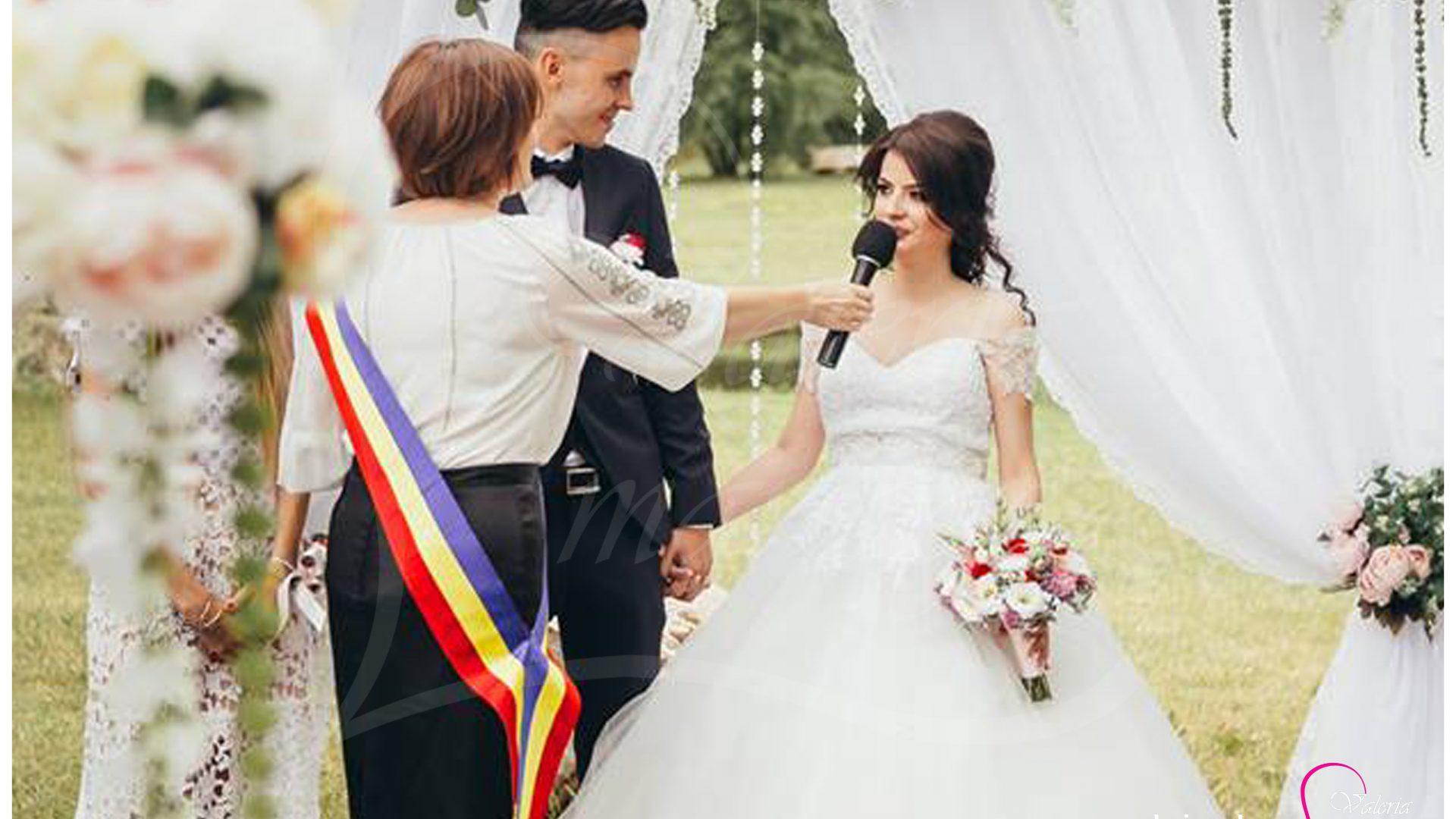 Inregistrarea casatoriei sub cerul liber Agentia Valeria Mariage 069787665 www.valeria (1)