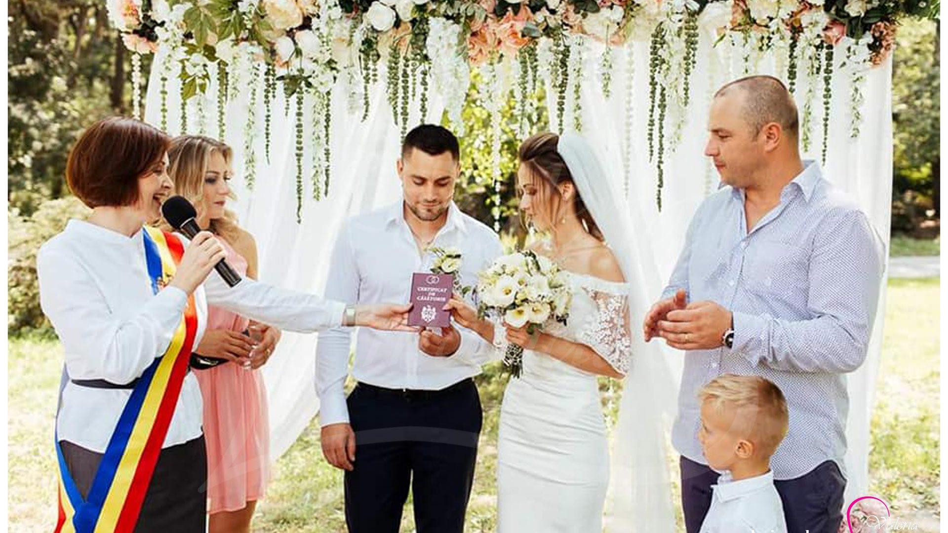 Inregistrarea casatoriei sub cerul liber Agentia Valeria Mariage 069787665 www.valeria (11)