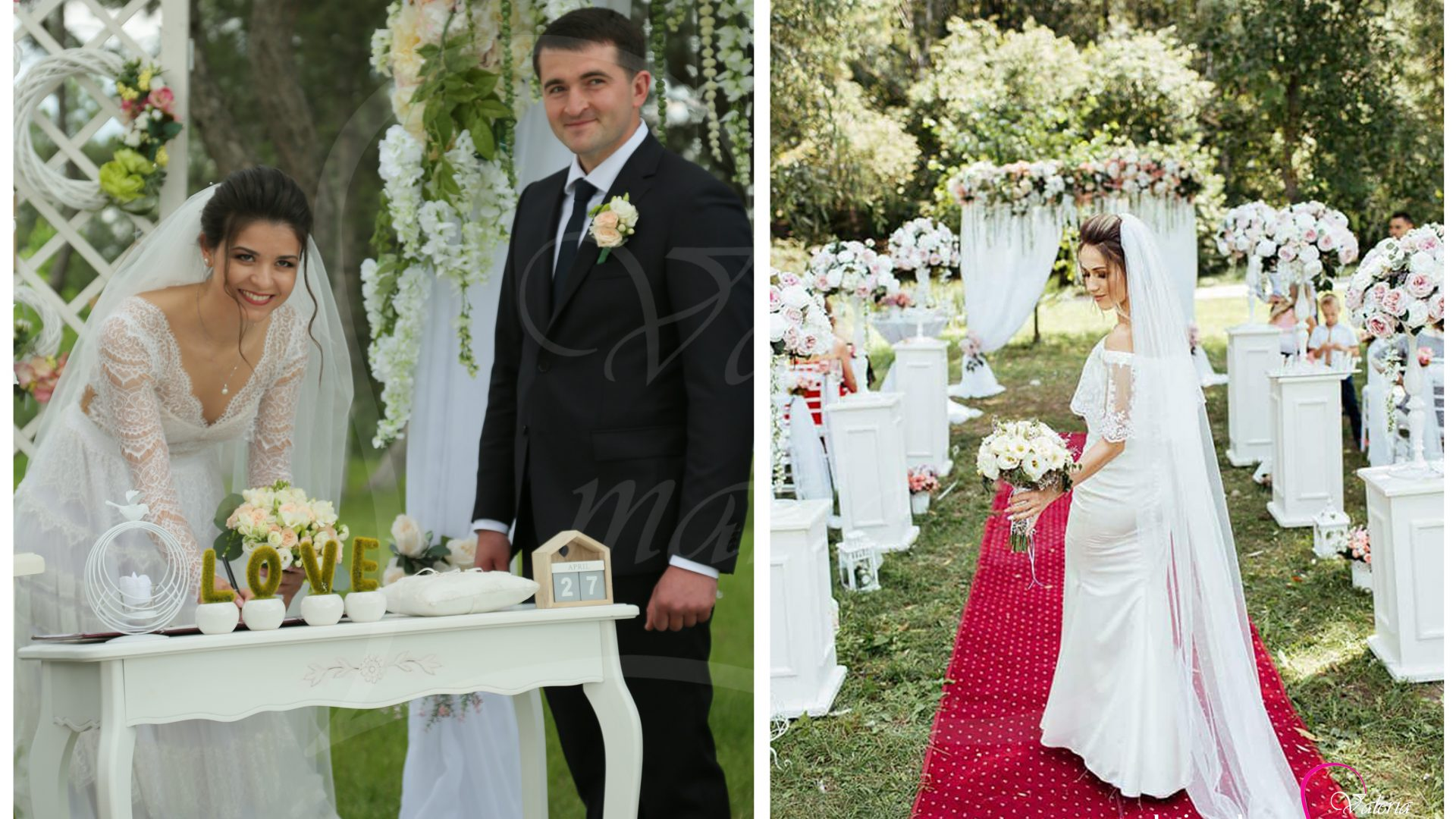 Inregistrarea casatoriei sub cerul liber Agentia Valeria Mariage 069787665 www.valeria (15)